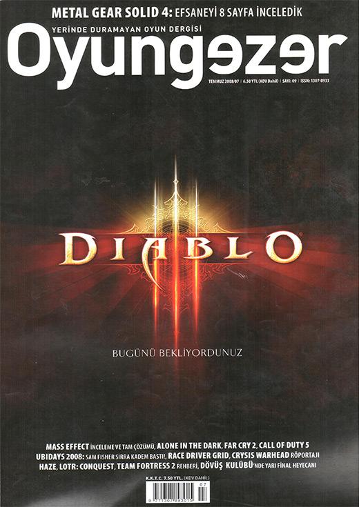Oyungezer #9 Temmuz 2008
