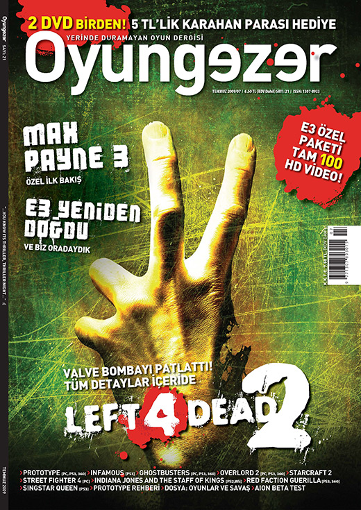 Oyungezer #21 Temmuz 2009