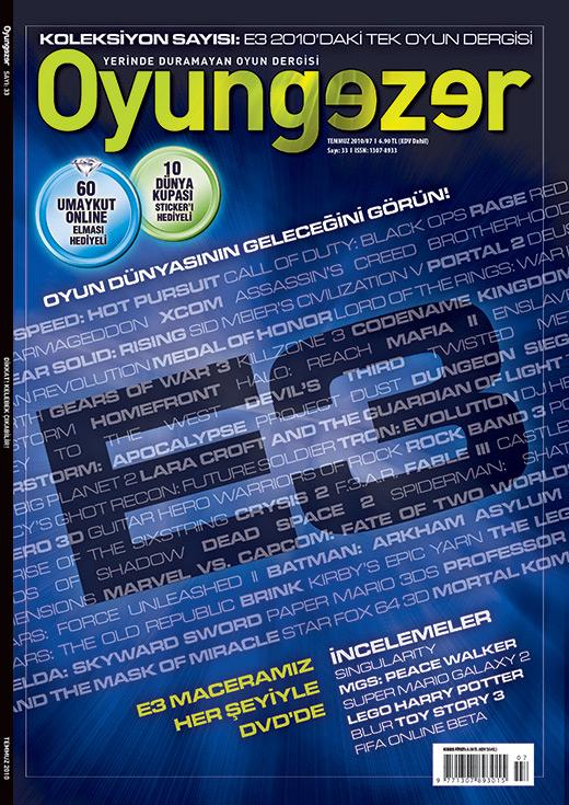Oyungezer #33 Temmuz 2010