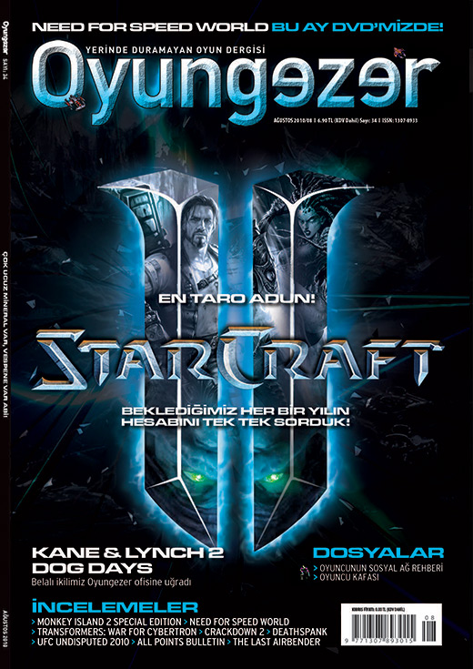 Oyungezer #34 Ağustos 2010