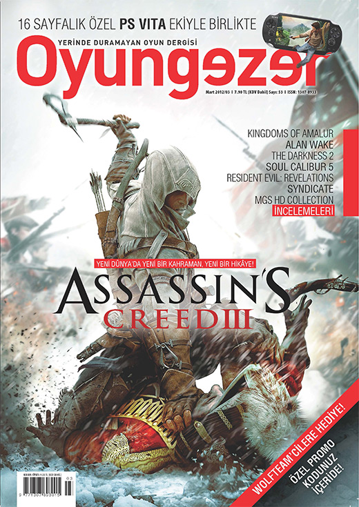 Oyungezer #53 Mart 2012