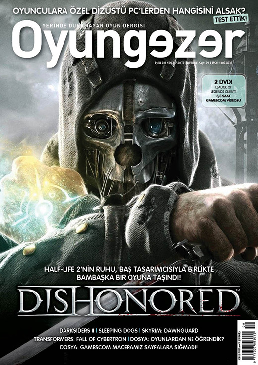 Oyungezer #59 Eylül 2012