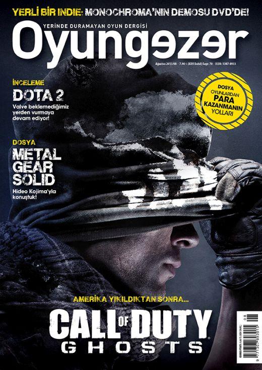 Oyungezer #70 Ağustos 2013
