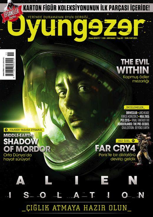 Oyungezer #85 Kasım 2014