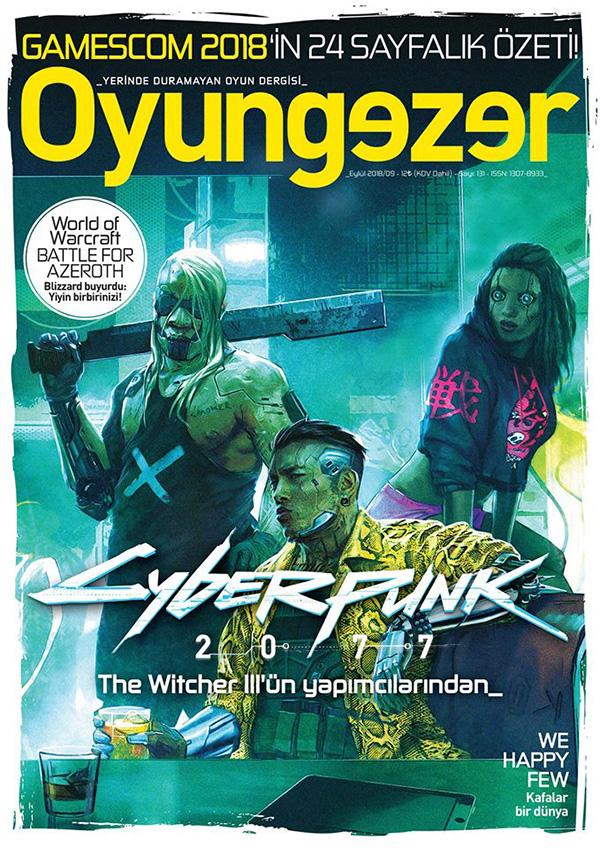 Oyungezer #131 Eylül 2018