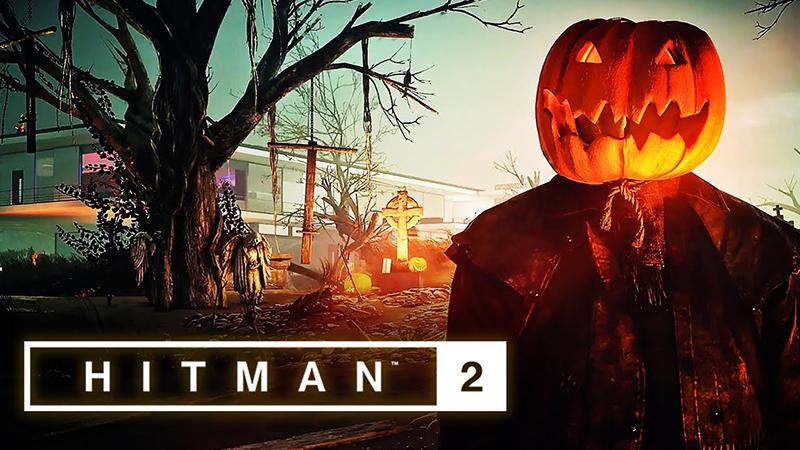 Hitman 2'nin Cadılar Bayramı Etkinliğinden Korku Dolu Bir Fragman Geldi