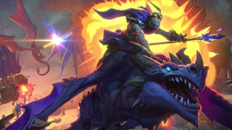 Hearthstone'a Ejderhaları Konu Alan Paket Geliyor: Descent of Dragons
