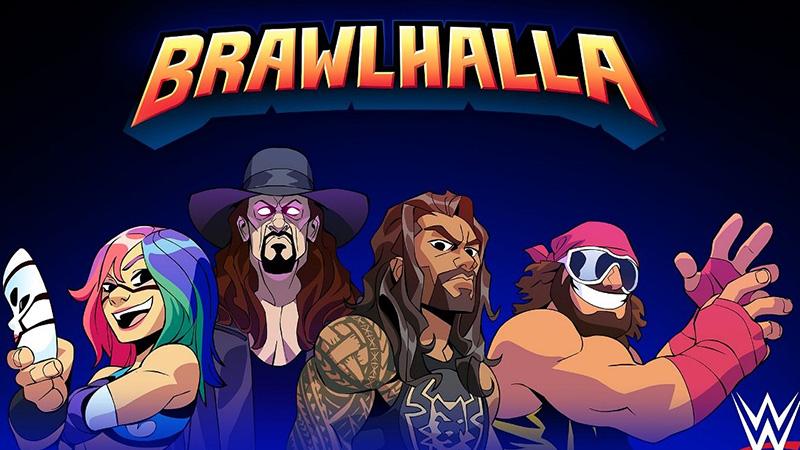 WWE Süperstarları Bugün Brawlhalla'ya Katılıyor
