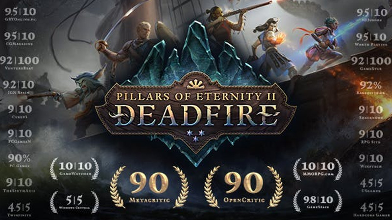 Deadfire'ın Ticari Başarısızlığı, Pillars of Eternity 3'ün Geleceğini Tehlikeye Soktu