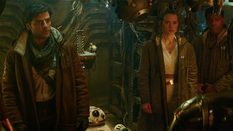 The Rise Of Skywalker'ın Yeni Fotoğrafında Poe, Finn ve Chewie Nereye Bakıyor?
